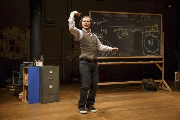 John Leguizamo wrote and stars in Latin History for Morons at the Public Theater.