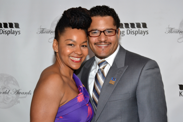 Crystal A. Dickinson and Brandon J. Direden will lead the cast of A Raisin in the Sun at Two River Theater.