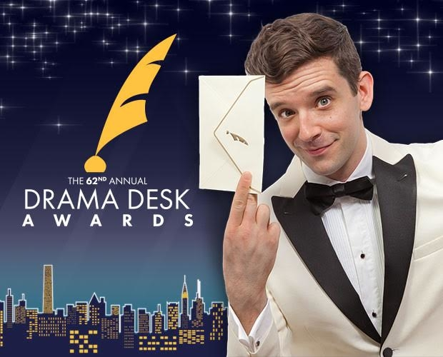 Michael Urie hosts the 2017 Drama Desk Awards at Town Hall.
