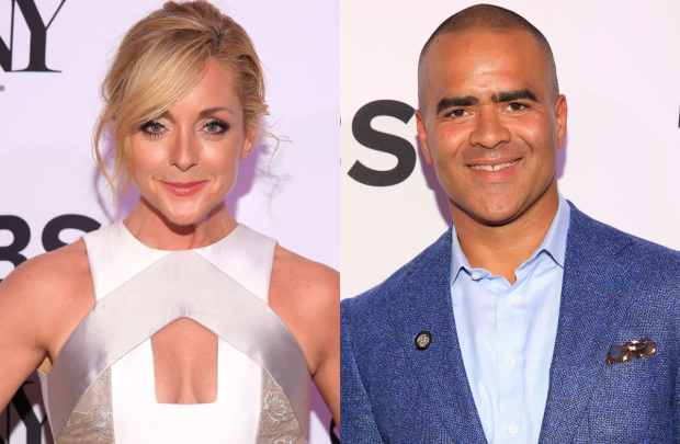 Jane Krakowski and Christopher Jackson will cohost the announcement of the 2017 Tony Awards nominations on May 2.