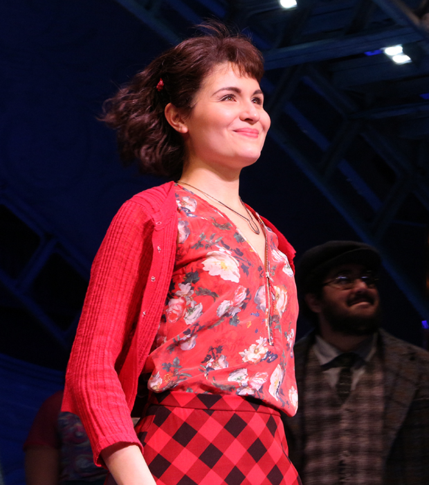 Phillipa Soo takes her bow as Amélie opens on Broadway.