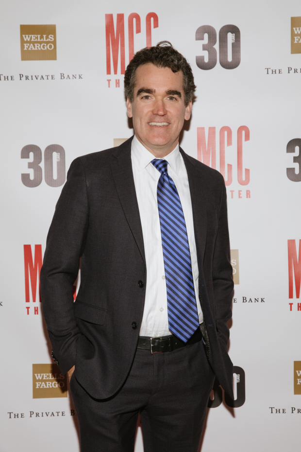 Tony nominee Brian d'Arcy James was part of the show.