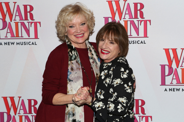 Christine Ebersole and Patti LuPone will lend their voices to the original Broadway cast recording of War Paint.