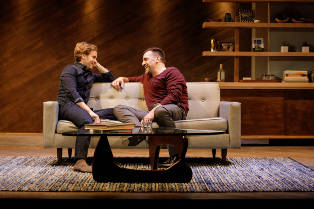 Ryan Spahn and Matthew Montelongo star in Michael McKeever's Daniel's Husband, directed by Joe Brancato, for Primary Stages at the Cherry Lane Theatre.