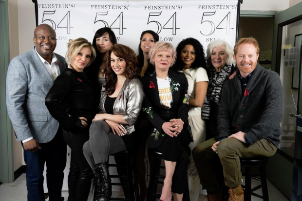 The 2016 cast of A Is For's Broadway Acts for Women event at Feinstein's/54 Below.