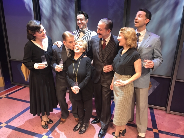 Cagney, directed by Bill Castellino, celebrates one year at the Westside Theatre.