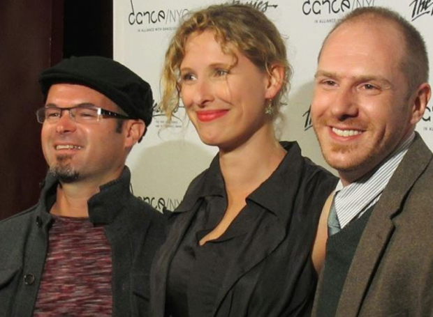 Tom Pearson, Jennine Willett, and Zach Morris are the artistic directors of Third Rail Projects.
