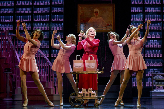Christine Ebersole plays Elizabeth Arden in War Paint on Broadway.