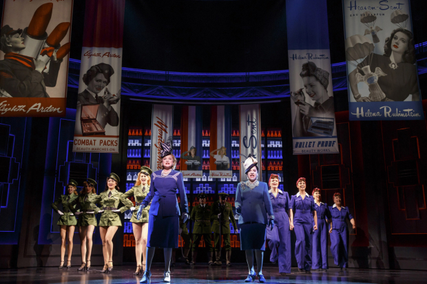 Christine Ebersole and Patti LuPone star in War Paint, directed by Michael Greif, at Broadway's Nederlander Theatre.