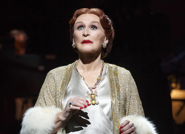 Glenn Close as Norma Desmond in the Broadway revival of Sunset Boulevard.