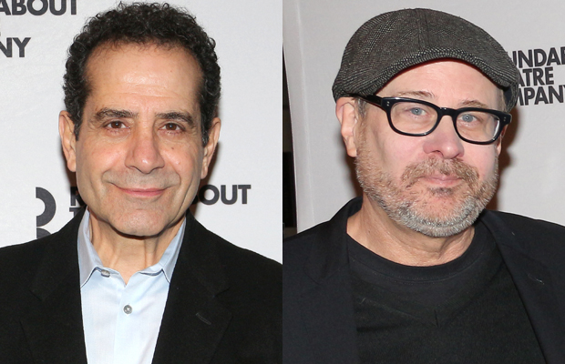 The Price's Tony Shalhoub and his director Terry Kinney.