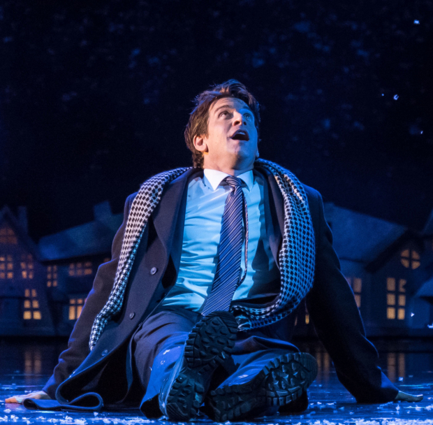 Andy Karl in the London production of Groundhog Day.