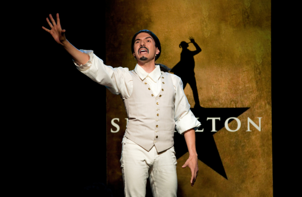 Dan Rosales in Spamilton at The Triad.