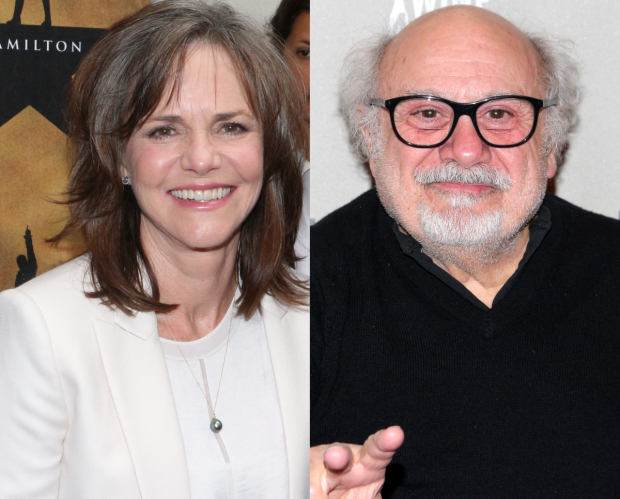 Sally Field and Danny DeVito will be honored at The Actors Fund's annual gala.