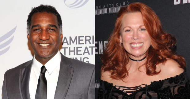 Norm Lewis and Carolee Carmello join Sweeney Todd tonight.