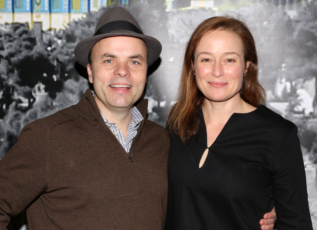 J.T. Rogers and Jennifer Ehle collaborate on the Broadway production of Oslo.