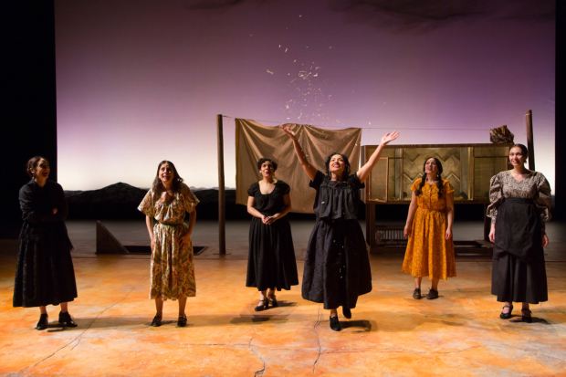A scene from The Women of Padilla, directed by Ken Rus Schmoll, at Two River Theater.