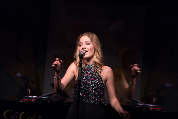 Jackie Evancho makes her Café Carlyle debut.