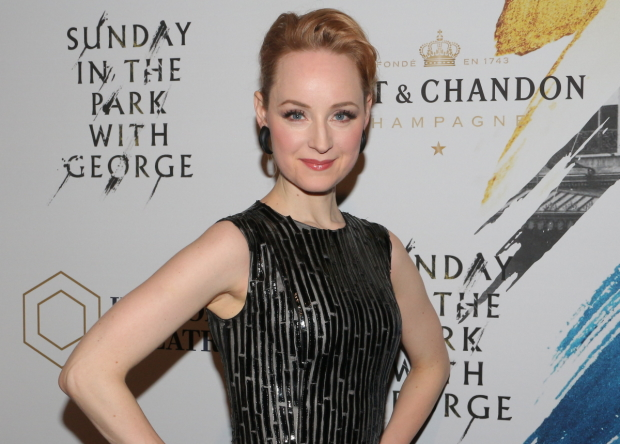 Erin Davie plays Yvonne/Naomi in the Broadway revival of Sunday in the Park With George at the Hudson Theatre.