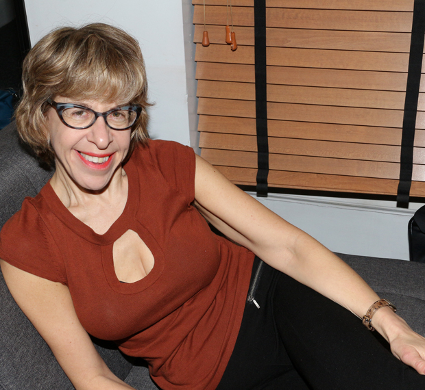Jackie Hoffman in her dressing room at the Lunt-Fontanne Theatre.
