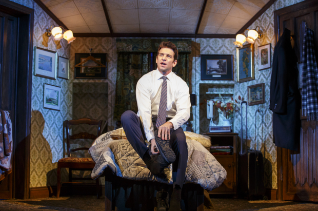 Andy Karl stars as Phil Connors in Groundhog Day, opening tonight at Broadway's August Wilson Theatre.