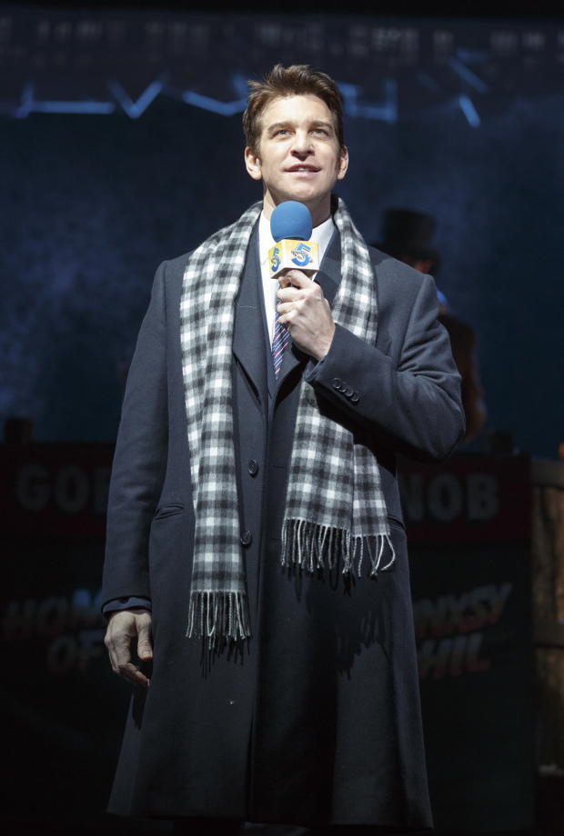 Andy Karl stars as Phil Connors in Groundhog Day at the August Wilson Theatre.