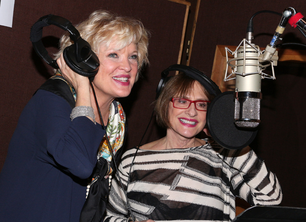 Christine Ebersole and Patti LuPone record the War Paint cast album.