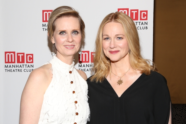 Cynthia Nixon and Laura Linney star in The Little Foxes directed by Daniel Sullivan, at Broaway's Samuel J. Friedman Theatre.