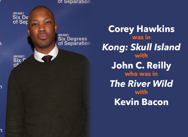 Corey Hawkins stars in Six Degrees of Separation.