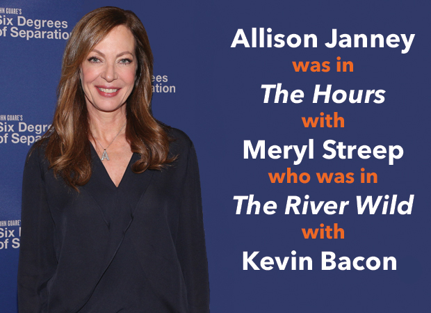 Allison Janney returns to Broadway in Six Degrees of Separation.