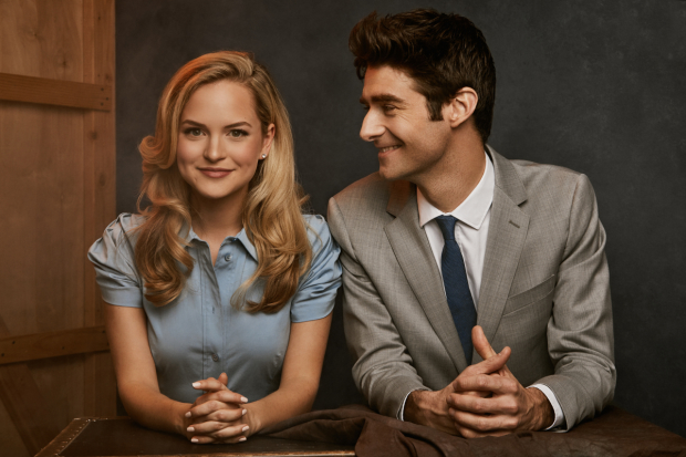 Stephanie Styles and Drew Gehling star in Roman Holiday, directed by Marc Bruni, at the Golden Gate Theatre.