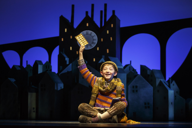 Ryan Foust is one of the three actors sharing the role of Charlie Bucket in Charlie and the Chocolate Factory.