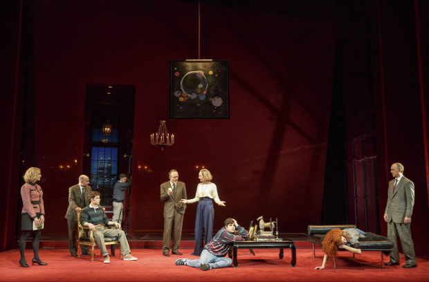 A scene from Six Degrees of Separation, directed by Trip Cullman, at the Barrymore Theatre.