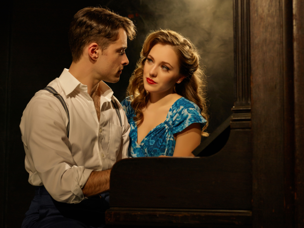 Corey Cott and Laura Osnes costar in the new musical, directed by Andy Blankenbuehler.