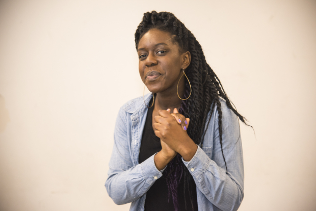 Obehi Janice stars as Ruth in Lydia R. Diamond's The Gift Horse, directed by Jim Petosa, at New Repertory Theatre.