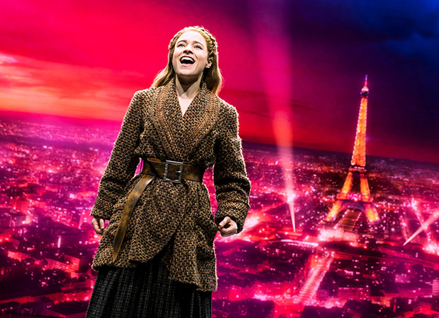 Christy Altomare in Anastasia on Broadway.