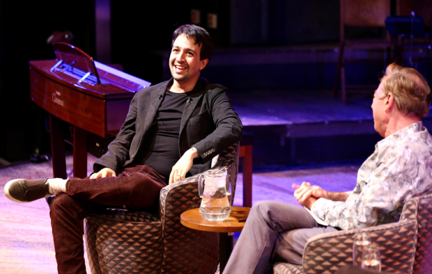 Lin-Manuel Miranda and Andrew Lloyd Webber discussed their careers and work together on Live at the Other Palace.