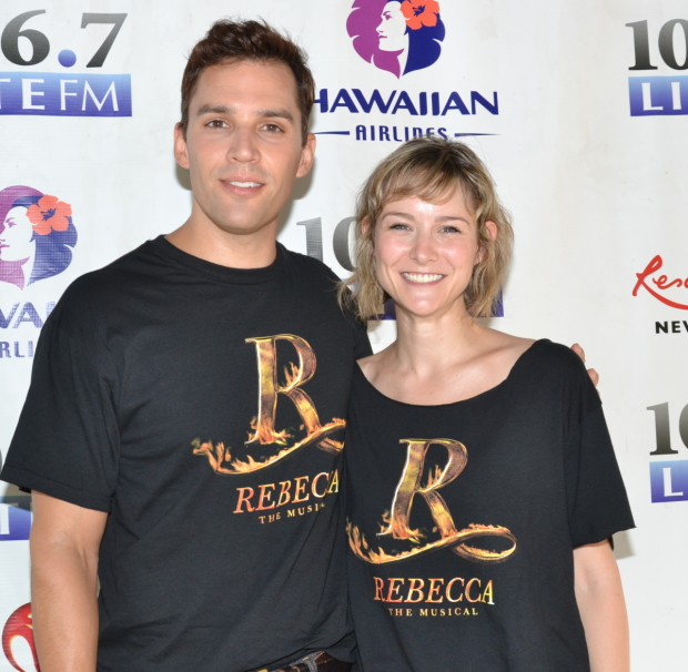 Ryan Silverman and Jill Paice were set to star on Broadway in Rebecca.