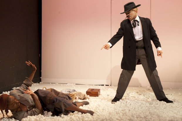 A scene from An Octoroon at Soho Rep.