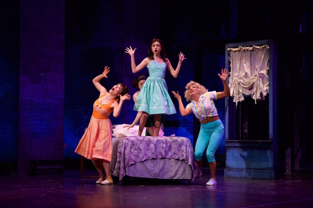 A scene from West Side Story, directed by Richard Israel, at La Mirada Theatre.