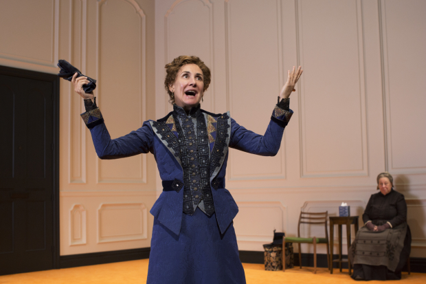 Laurie Metcalf plays Nora in A Doll's house, Part 2.