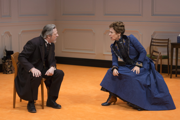 Chris Cooper and Laurie Metcalf go head to head in A Doll's House, Part 2.