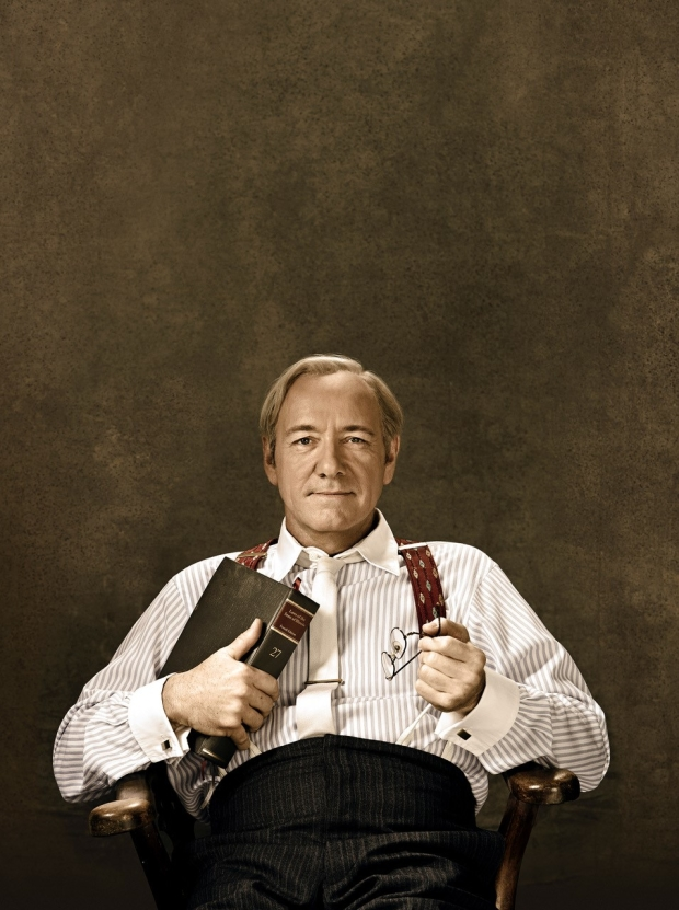 Kevin Spacey as Clarence Darrow.