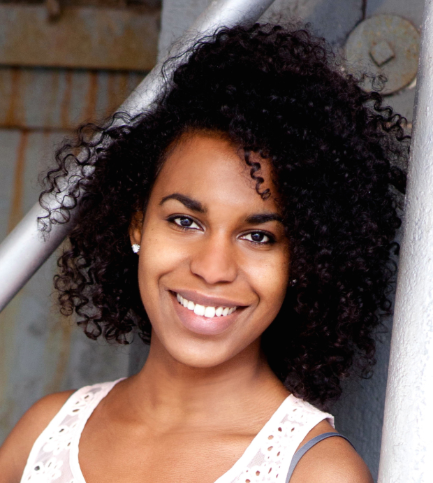 Danaya Esperanza plays Viola in the Mobile Unit's Twelfth Night.