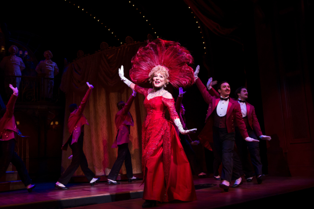 Bette Midler and Hello, Dolly! receive 10 Drama Desk nominations, including Outstanding Actress in a musical and Outstanding Revival of a Musical.
