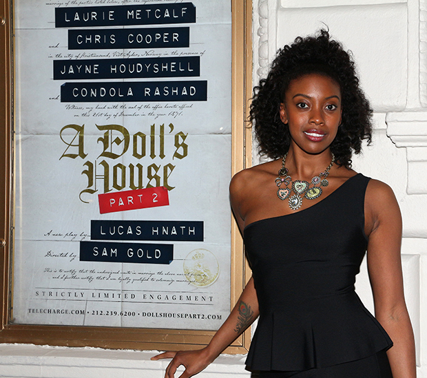 Condola Rashad returns to Broadway in A Doll's House, Part 2.