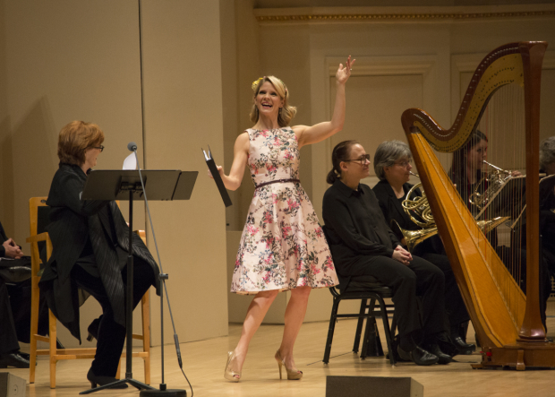 "Kelli O'Hara in stars in ""Babes in Toyland"", conducted and directed by Ted Sperling, at Carnegie Hall."