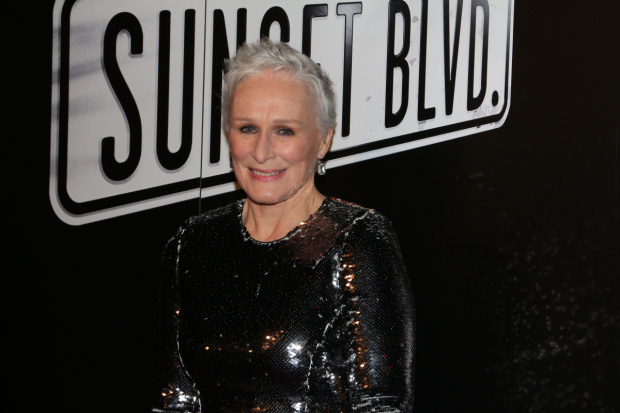 "Glenn Close will perform in ""Vintage Hollywood"" at Birdland."