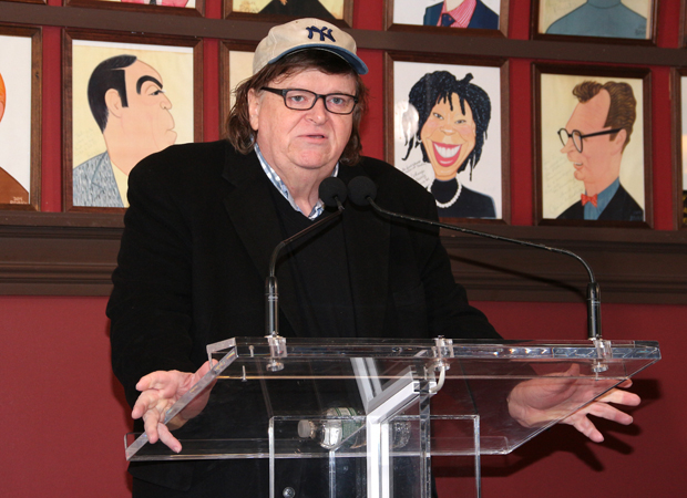 Michael Moore introduces his new show, The Terms of My Surrender.