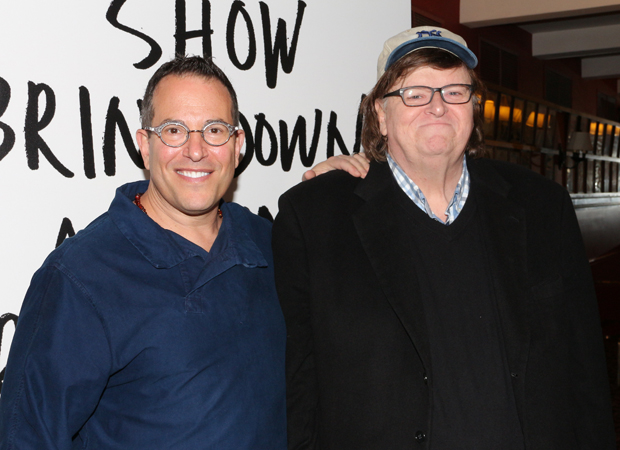 The Terms of My Surrender is directed by Michael Mayer and written by/starring Michael Moore.